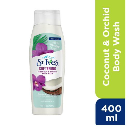 St. Ives Softening  Coconut & Orchid Body wash 400 ml