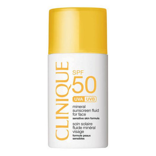 Clinique Broad Spectrum SPF 50 Mineral Sunscreen Fluid for Face 30ml