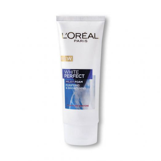 Loreal Paris White Perfect Purifying & Brightening Milky Foam Face Wash 100ml