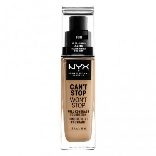 NYX Cant Stop Wont Stop 24Hr Foundation