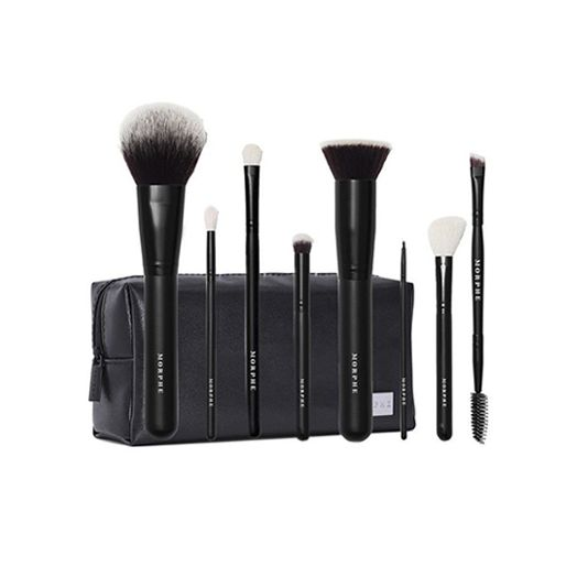 Morphe Get Things Started 8 Piece Brush Collection Bag