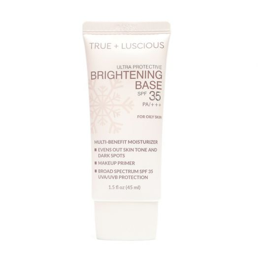 Luscious True + Luscious Ultra Protective Brightening Base For Oily Skin
