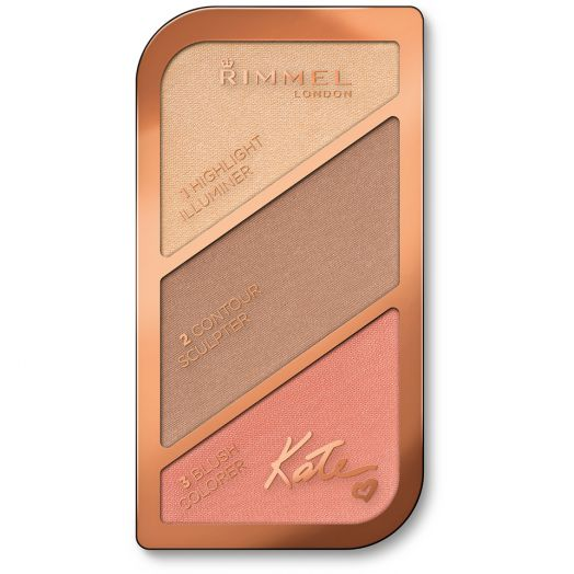Rimmel Sculpting Palette Shade 002 Coral Glow