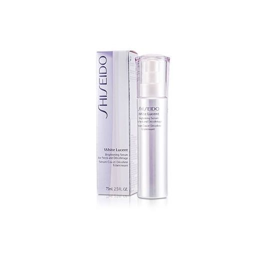 Shiseido Lucent Serum For Neck And Decolletage 75ml White