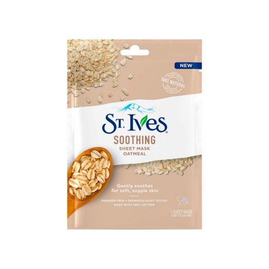 ST.IVES Soothing Sheet Mask Oatmeal