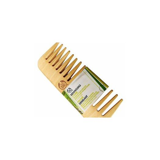 The Body Shop Hair Detaging Comb Wood